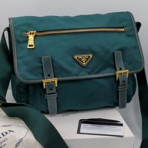 Prada Nylon Messenger Bag BT6671